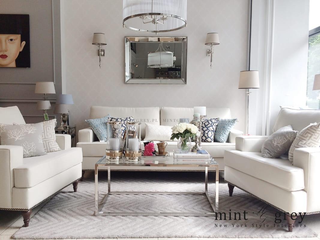 Sofa Livia Mint Grey New York Style Interiors