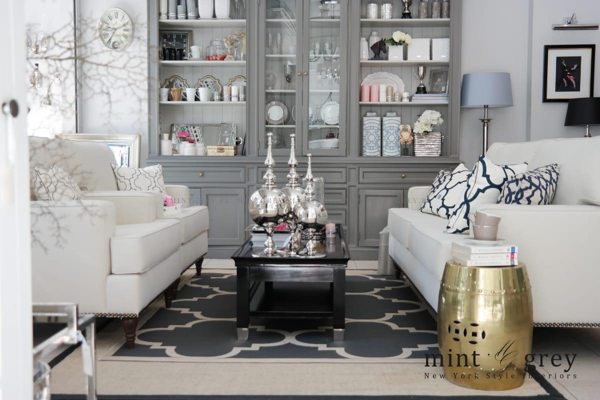 Fotel livia mint grey new york style interiors for New york style design