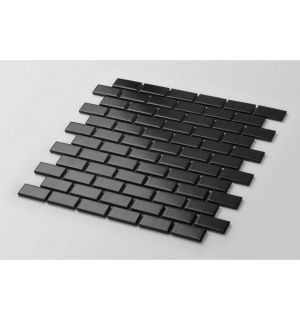 Mozaika MINI BRICK Black Mat