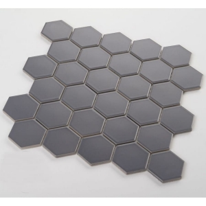 Mozaika HEXAGON Grey Mat