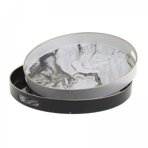 Taca ABSTRACT ROUND MARBLE