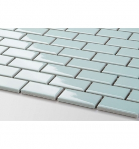 Mozaika MINI BRICK Light Blue