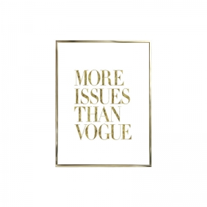 Plakat GOLD FRAME M Vogue
