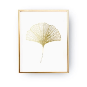 Plakat GOLD GINGKO