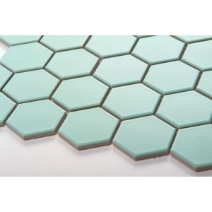 Mozaika HEXAGON Mint Mat
