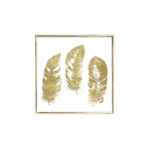 Plakat GOLD FRAME S Feathers